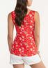 Flame Floral Tank alternate view