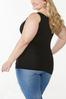 Plus Size Seamless Solid Tank alt view