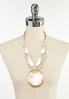 Ivory Shell Statement Necklace alternate view