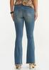 Distressed Flare Jeans alternate view