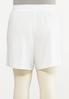 Plus Size French Terry Shorts alternate view