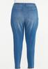 Plus Size Curvy Distressed Jeans alternate view