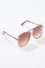 Cutout Frame Sunglasses alt view