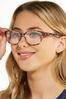 Pink Tortoise Reader Glasses alternate view