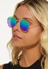 Rainbow Round Sunglasses alt view