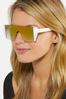 Mirrored Shield Sunglasses alternate view