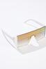 Mirrored Shield Sunglasses alt view