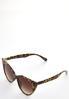 Leopard Cateye Sunglasses alt view