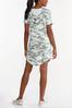 Plus Size Camo Active Dress alternate view