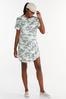Plus Size Camo Active Dress alt view