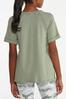 Plus Size Cuffed Sleeve Active Tee alternate view