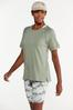 Plus Size Cuffed Sleeve Active Tee alt view