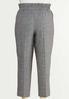 Plus Size Marled Tie Waist Pants alternate view