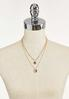 Delicate Layered Mixed Chain Necklace alternate view
