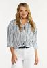 Frayed Stripe Shirt alt view