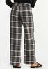 Plaid Trouser Pants alternate view