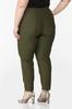 Plus Size Slim Bengaline Pants alternate view