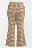 Plus Size Plaid Bengaline Pants alternate view