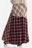 Frayed Patchwork Maxi Skirt alternate view