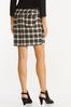 Neutral Plaid Mini Skirt alternate view