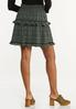 Tiered Ruffled Mini Skirt alternate view