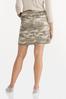 Camo Mini Skirt alternate view