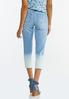 Cropped Ombre Jeans alternate view