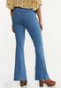 Petite Pull- On Flare Jeans alternate view