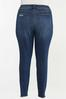 Plus Size Distressed Jeggings alternate view