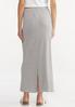 Plus Size Tie Waist Maxi Skirt alternate view