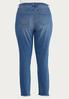 Plus Size Frayed Skinny Jeans alternate view