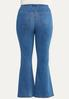 Plus Size Pull- On Flare Jeans alternate view