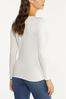 Plus Size Solid Scoop Neck Sweater alternate view