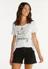 Plus Size Have Faith In Your Journey Tee alt view