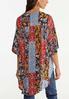 Plus Size Patchwork Kimono alternate view
