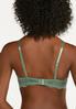 Plus Size Lace Overlay Bra Set alt view