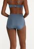 Plus Size High Waist Brief Panty Set alt view
