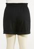 Plus Size Ponte Cuff Shorts alternate view