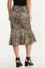 Flounced Leopard Skirt alternate view