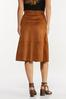Faux Suede Midi Skirt alternate view