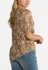 Lacy Pointed Hem Top alternate view