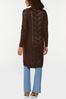 Plus Size Pointelle Sweater Duster alternate view