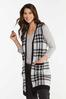 Plus Size Houndstooth Sweater Vest alt view