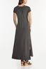Plus Size Cutout Tee Shirt Maxi Dress alternate view