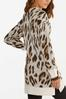 Leopard Tunic Sweater alternate view