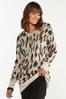 Leopard Tunic Sweater alt view