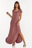 Plus Size One Shoulder Maxi Dress alt view