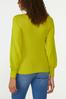 Plus Size Cutout Ribbed Sweater alternate view