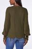 Plus Size Distressed Cardigan Sweater alternate view