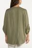 Plus Size Olive High- Low Tunic alternate view